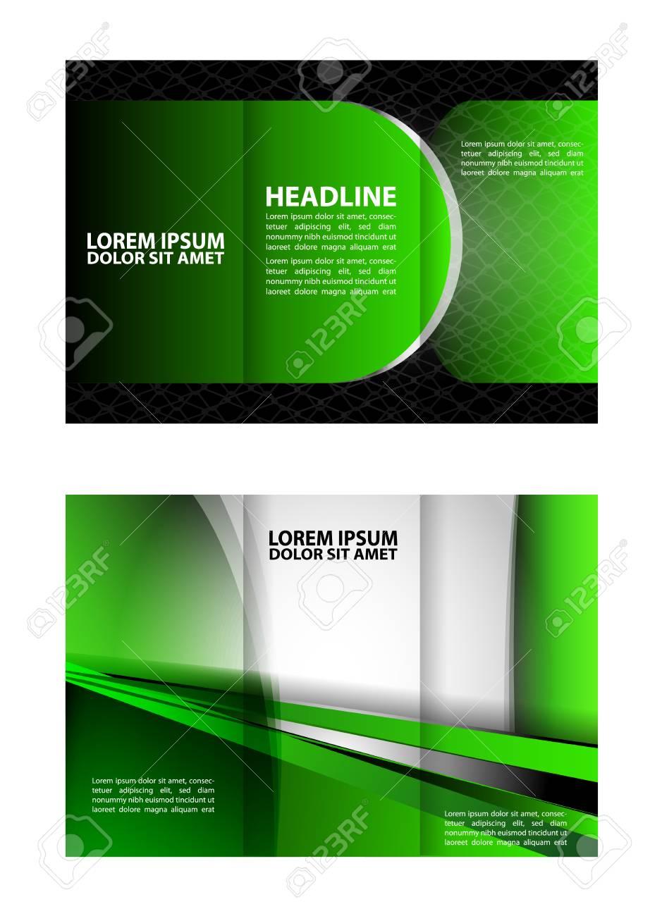 tri fold brochure design mock up royalty free cliparts vectors and