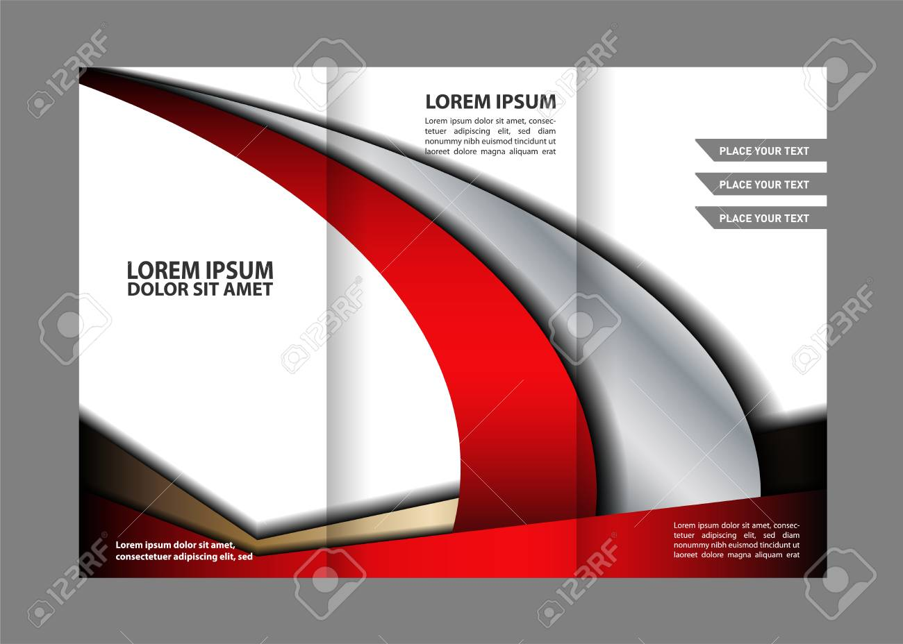 professionelle dreifache business flyer vorlage imagebroschre oder cover design kann die verwendung - Imagebroschure Beispiele