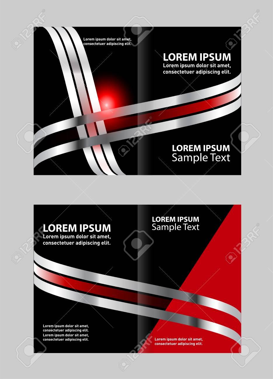 bi fold brochure design royalty free cliparts vectors and stock