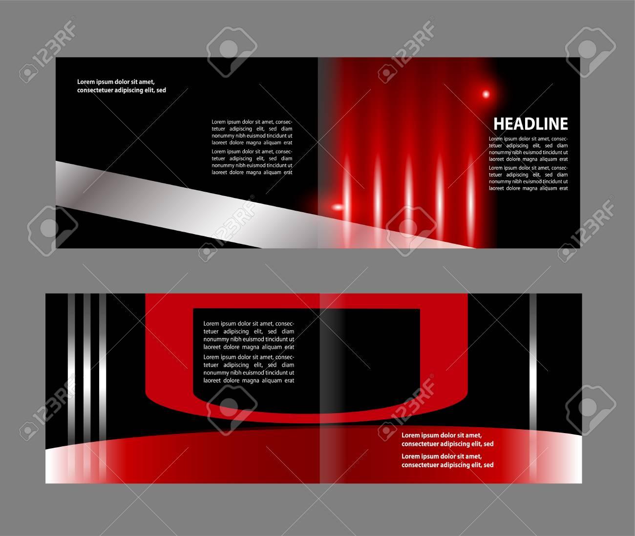 professional business flyer corporate brochure design template