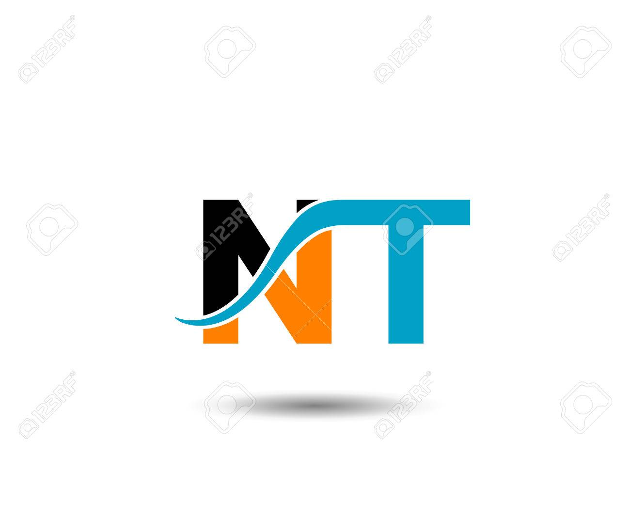 Nt Letter Royalty Free Cliparts Vectors And Stock Illustration