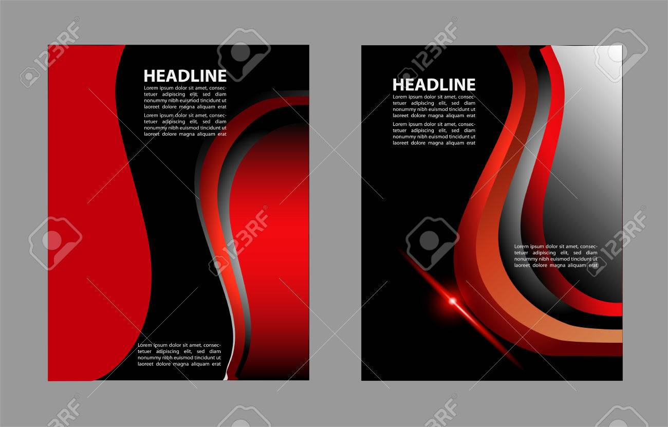 Professional Business Or Corporate Banner Design Layout Template Magazine Cover Publishing And Print