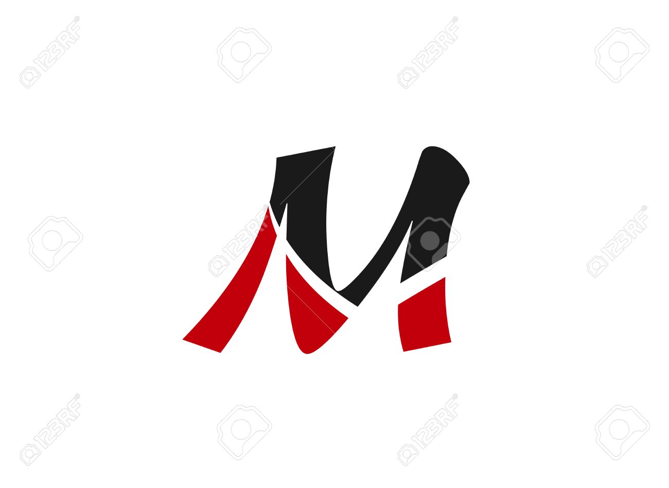 Letter M Logo Design Template Elements Icon