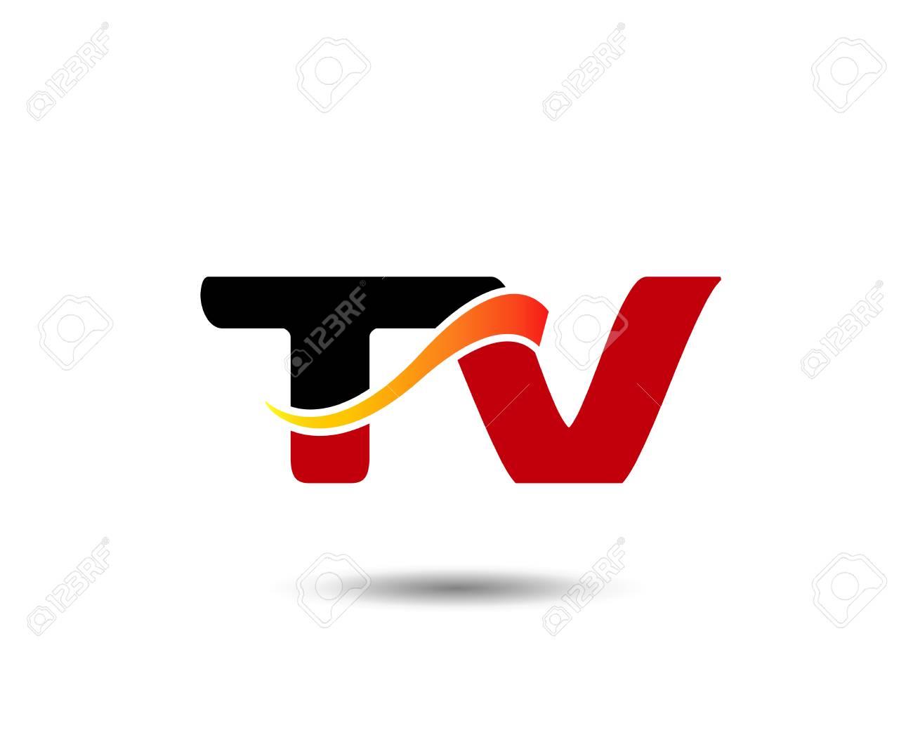 Modèle de lettre T et V