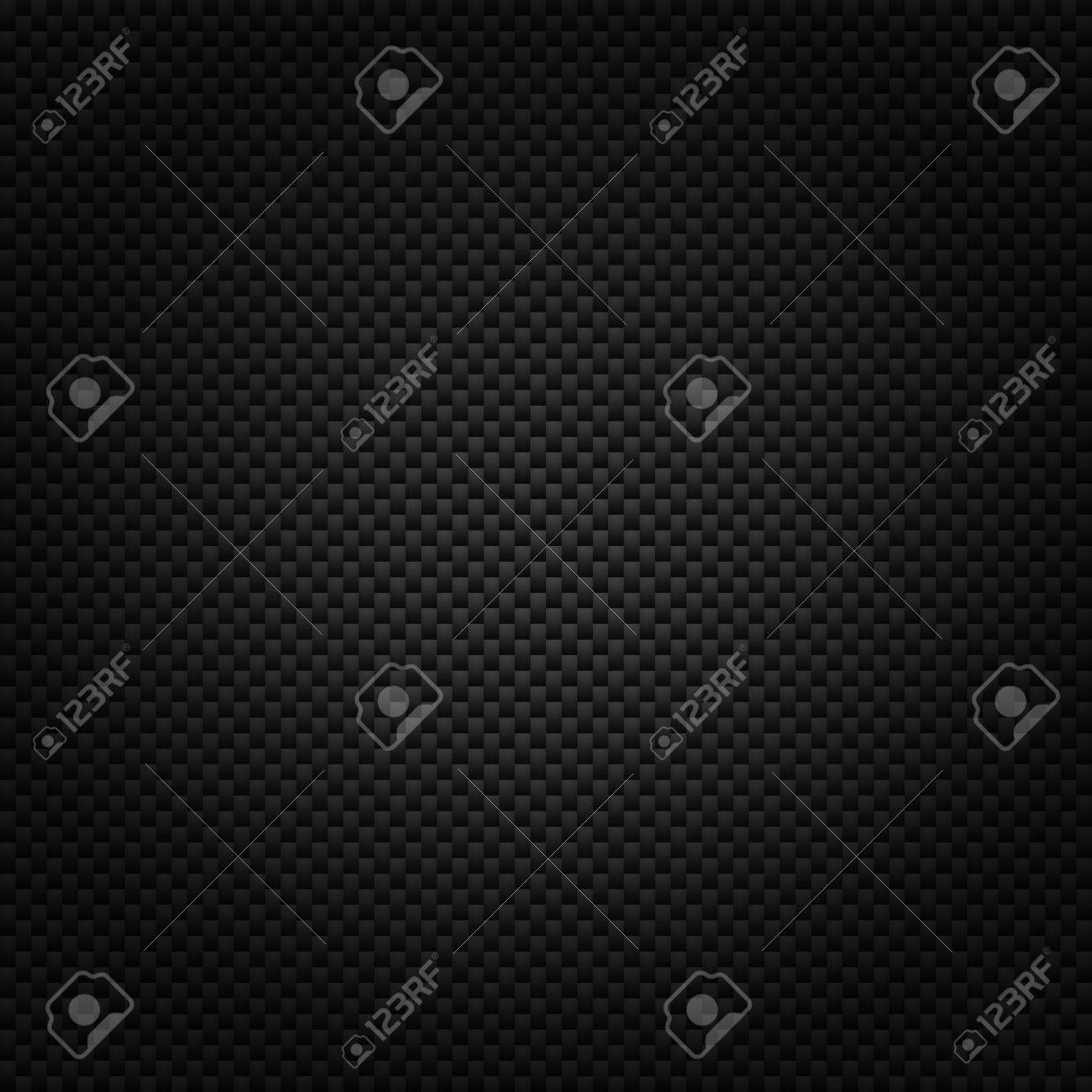 Texture of carbon fiber material  Dark background Stock Photo - 15495052
