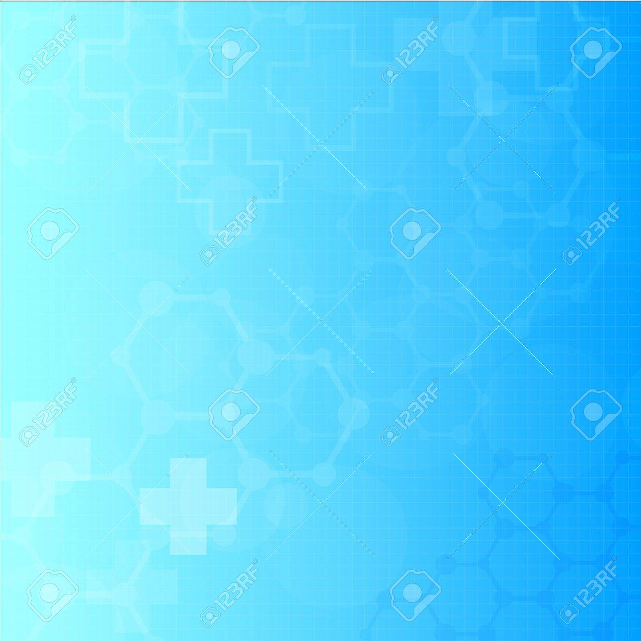 Abstract molecules medical background - 18562319