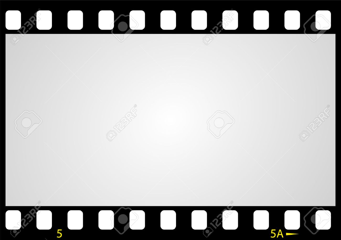 Negative Picture Film Frame Illustration Royalty Free Cliparts ...