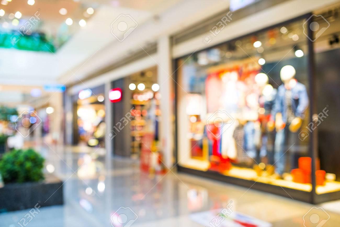 Résumé de fond de centre commercial, la profondeur de mise au point. Banque d'images - 36440173