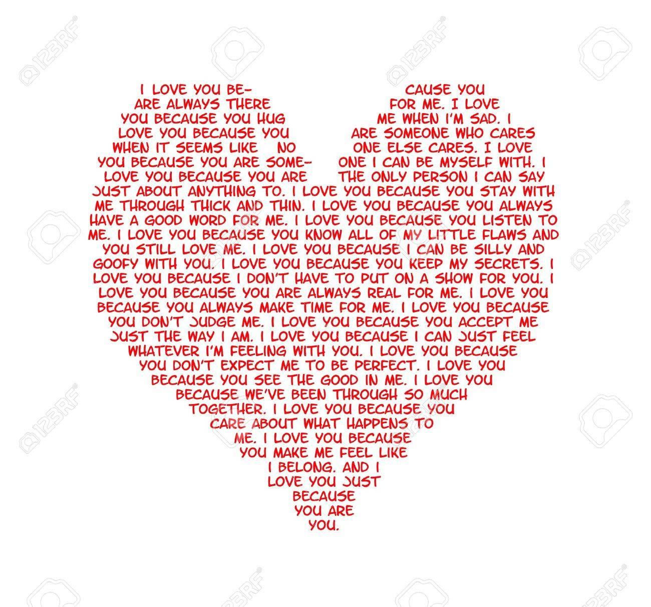Razones Para Amar A Alguien Escribió En La Forma De Un Corazón Fotos Retratos Imágenes Y Fotografía De Archivo Libres De Derecho Image 15803413
