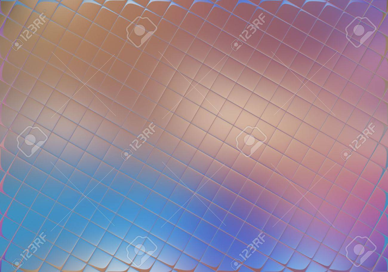 Glass squares with soft focus colourful background Stock Photo - 483674