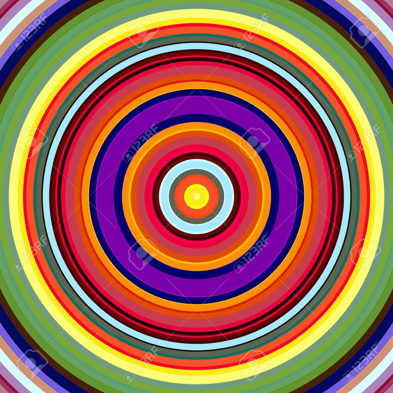leuchtende krftige farben kreise muster illustration lizenzfreie bilder 23132521 - Rentabilittsvorschau Muster