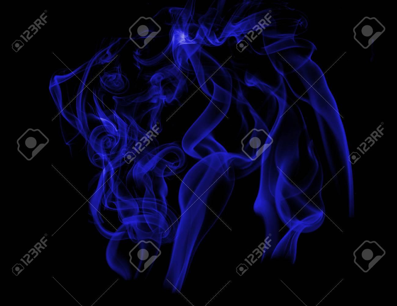 Royal Blue Smoke Stock Vector - 7686157