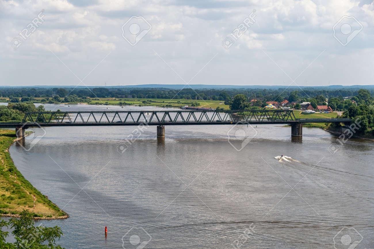 The Lauenburg Elbe Bridge over the Elbe - 171101139