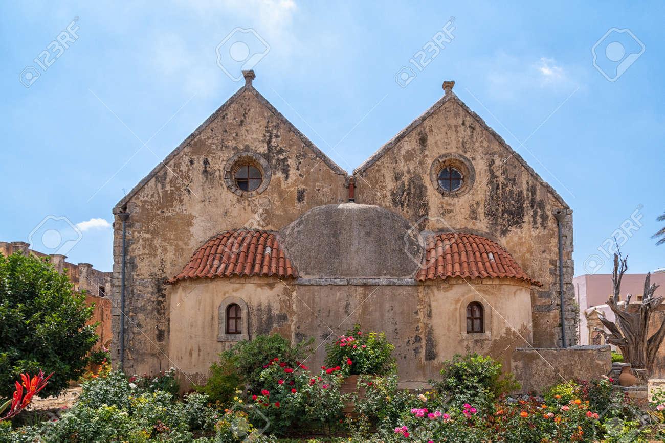 Arkadi Monastery on the Greek island of Crete - 171718644
