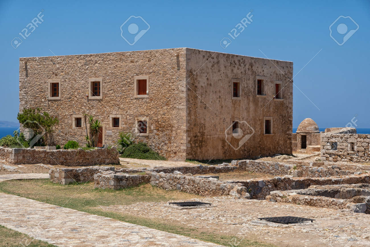 The Fortezza fortress in Rethymno on the Greek island - 171854743