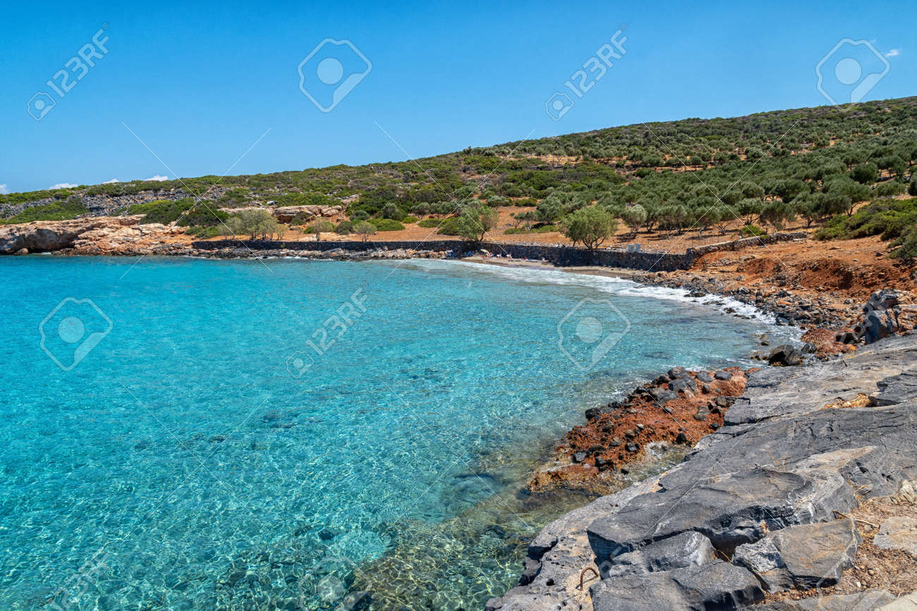 Kolokitha Beach on the Greek island of Crete - 173514539