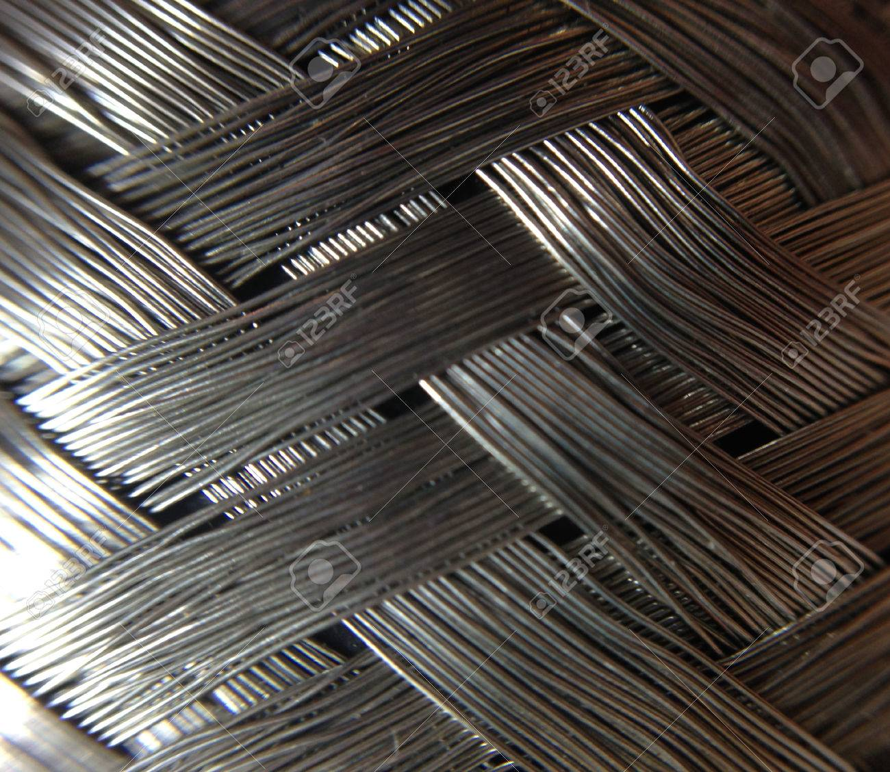 Braided Steel Stock Photo, Picture And Royalty Free Image. Image ...