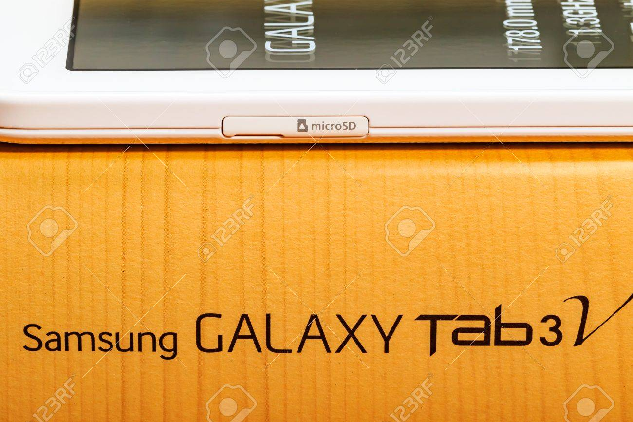 Product images for a Samsung Galaxy Tab 3V Stock Photo - 53870230