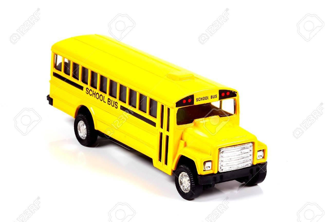 Toy School Bus Stock Photo - 238651