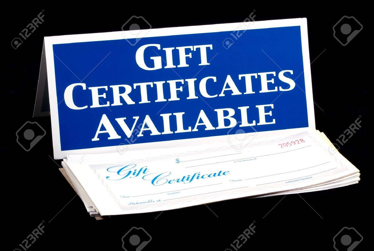 Gift certificates available sign and certificates stock photo gift certificates available sign and certificates stock photo 289591 xflitez Gallery