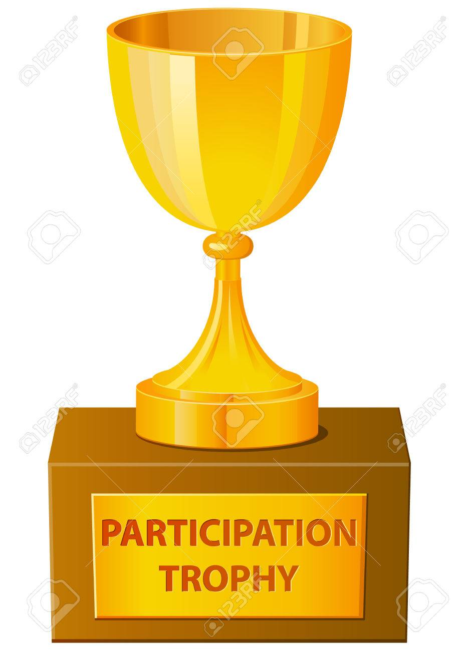 participation trophy vector icon royalty free cliparts vectors and rh 123rf com free clipart trophy cup free trophy clipart images