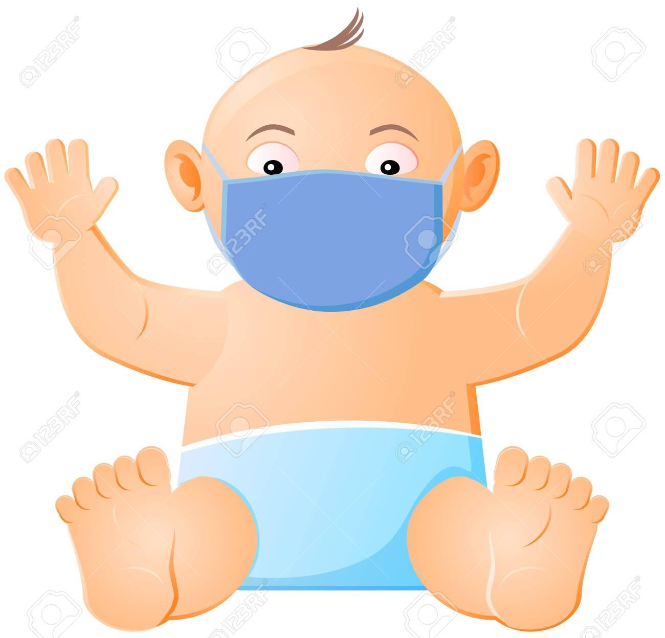 baby mask virus