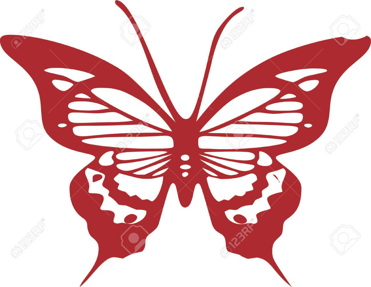 butterfly clip art design illustration royalty free cliparts