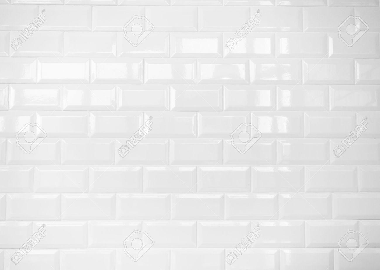 White Bathroom Tile Texture