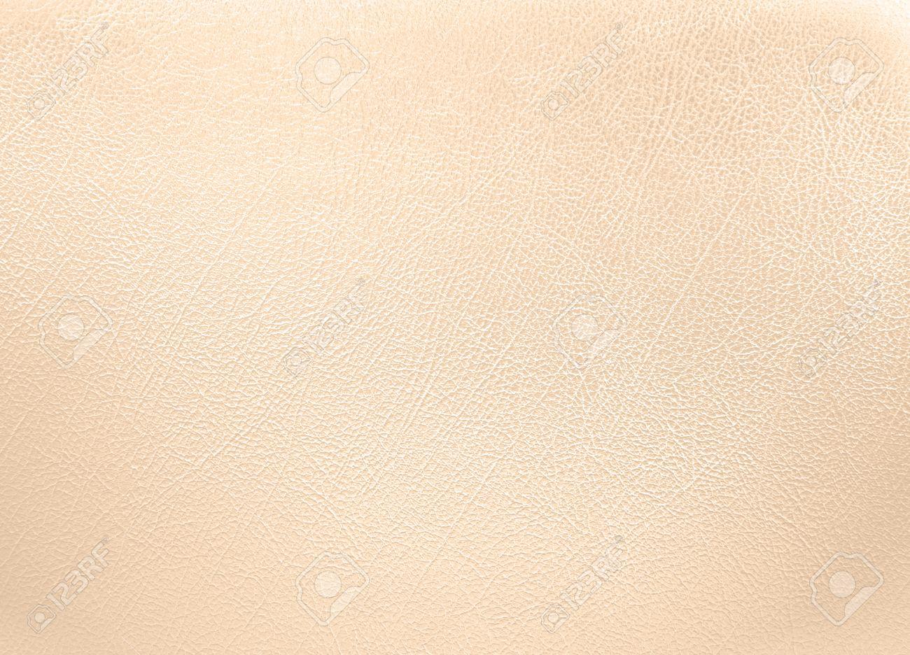 6d74c26e1aeb Cream colored leather texture background Stock Photo - 35140053