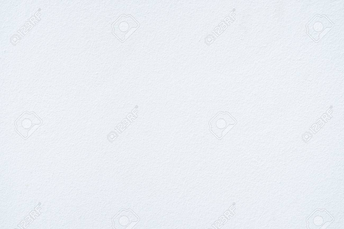 Clean White Paint Concrete Wall Texture Background Stock Photo
