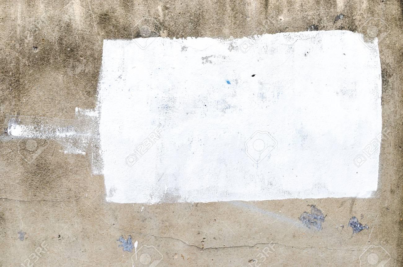 Texture Fond Grunge Peinture Murale En Béton Avec La Couleur Blanche