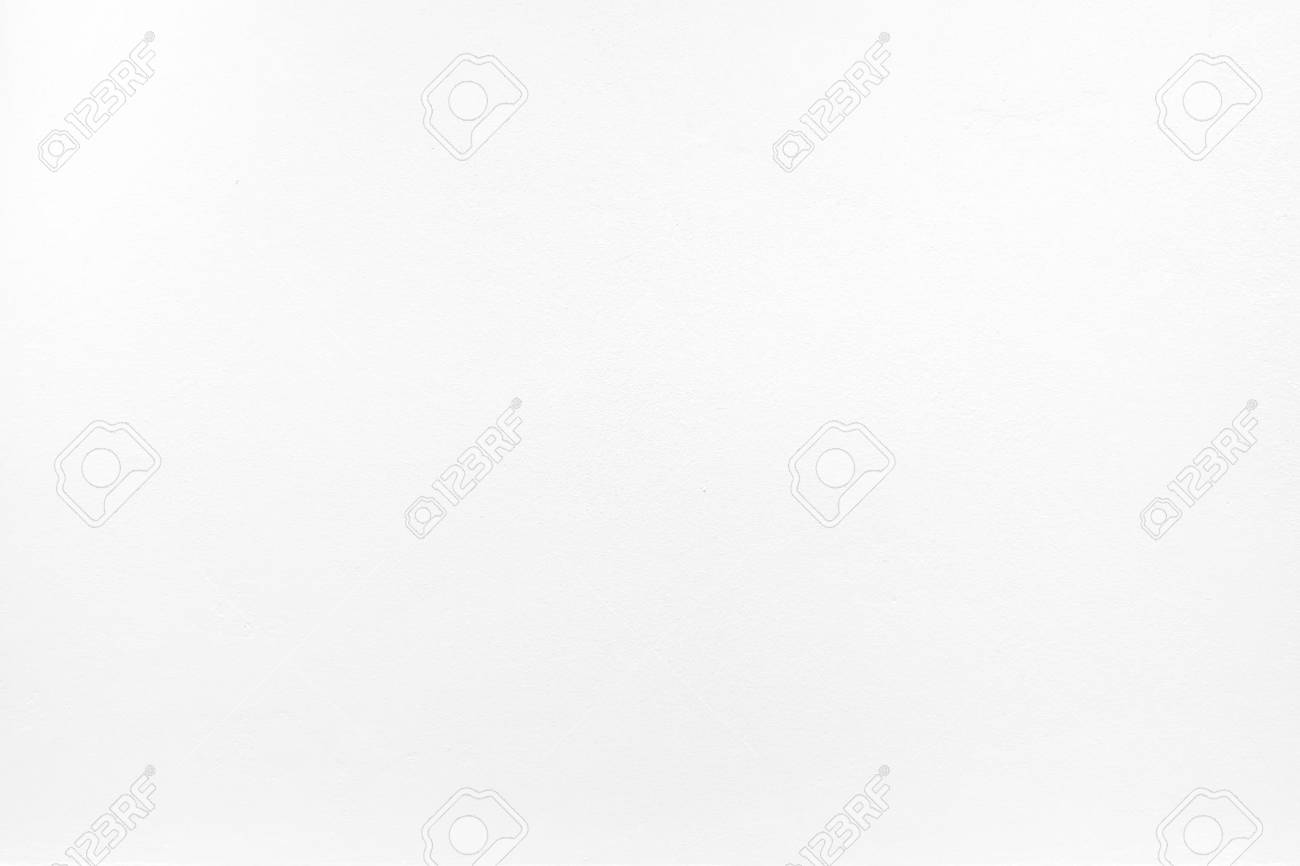 white color paint on cement wall, Texture background. - 42659982