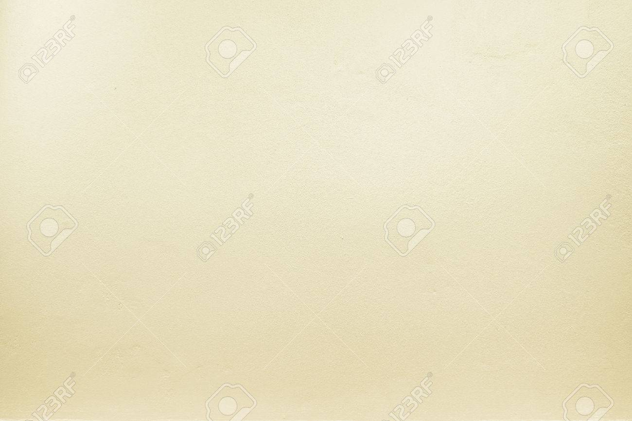yellow pastel color paint on cement wall, Texture background. Stock Photo - 42662191
