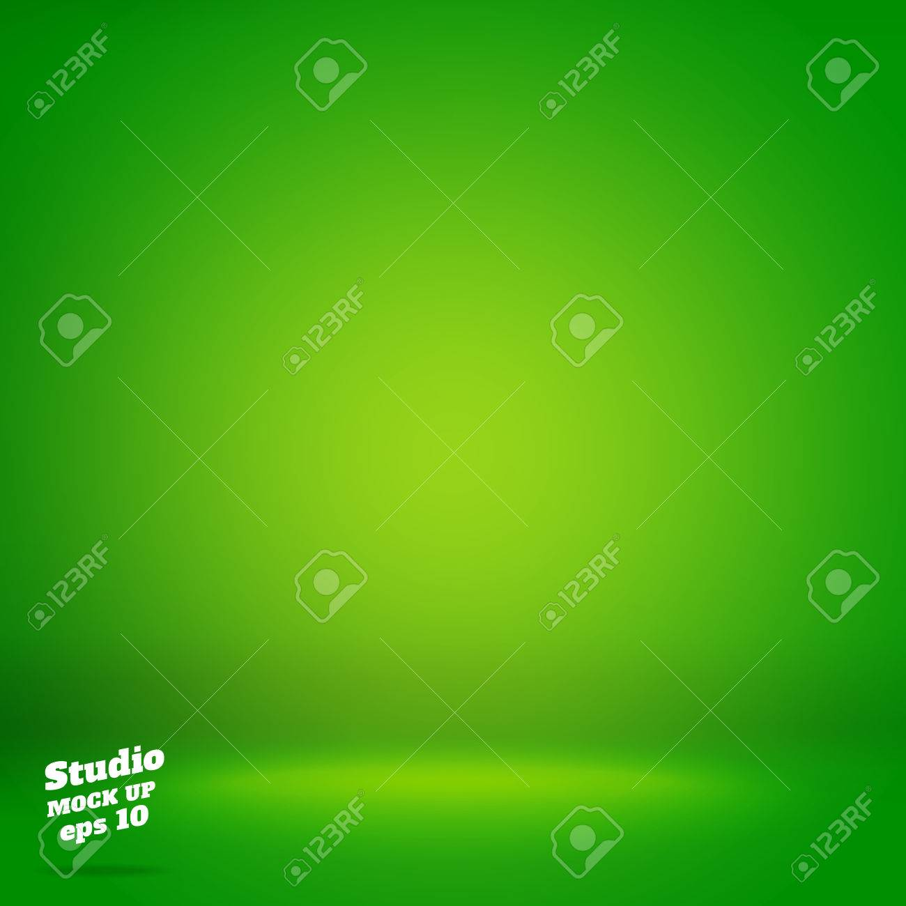 Vector,Empty vivid lighting green studio room background ,Template mock up for display or montage of product,Business backdrop. - 59621430