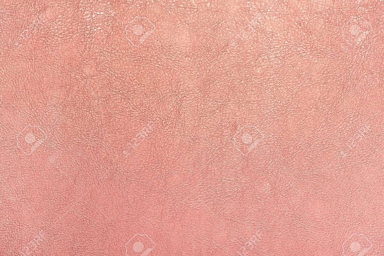 rose gold color leather texture background. - 74525517