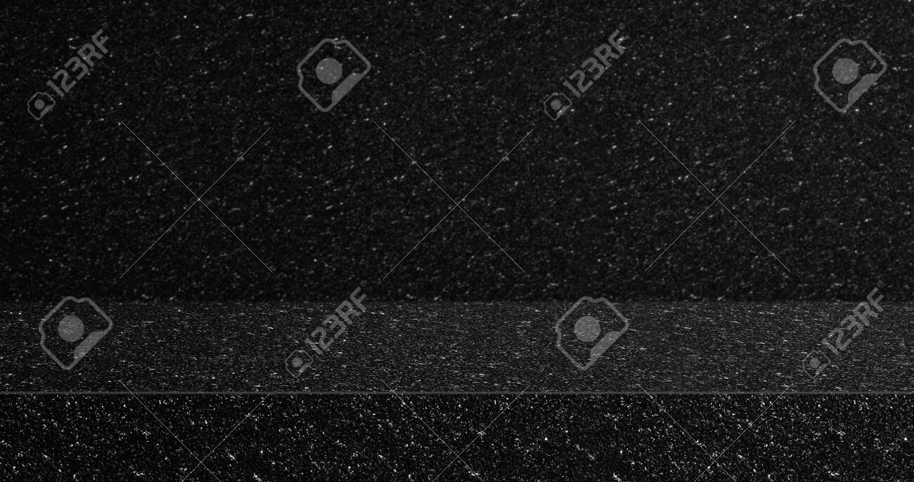 Black Glitter Texture Table Product Display Background 3d Perspective Stock Photo Picture And Royalty Free Image Image 139748476