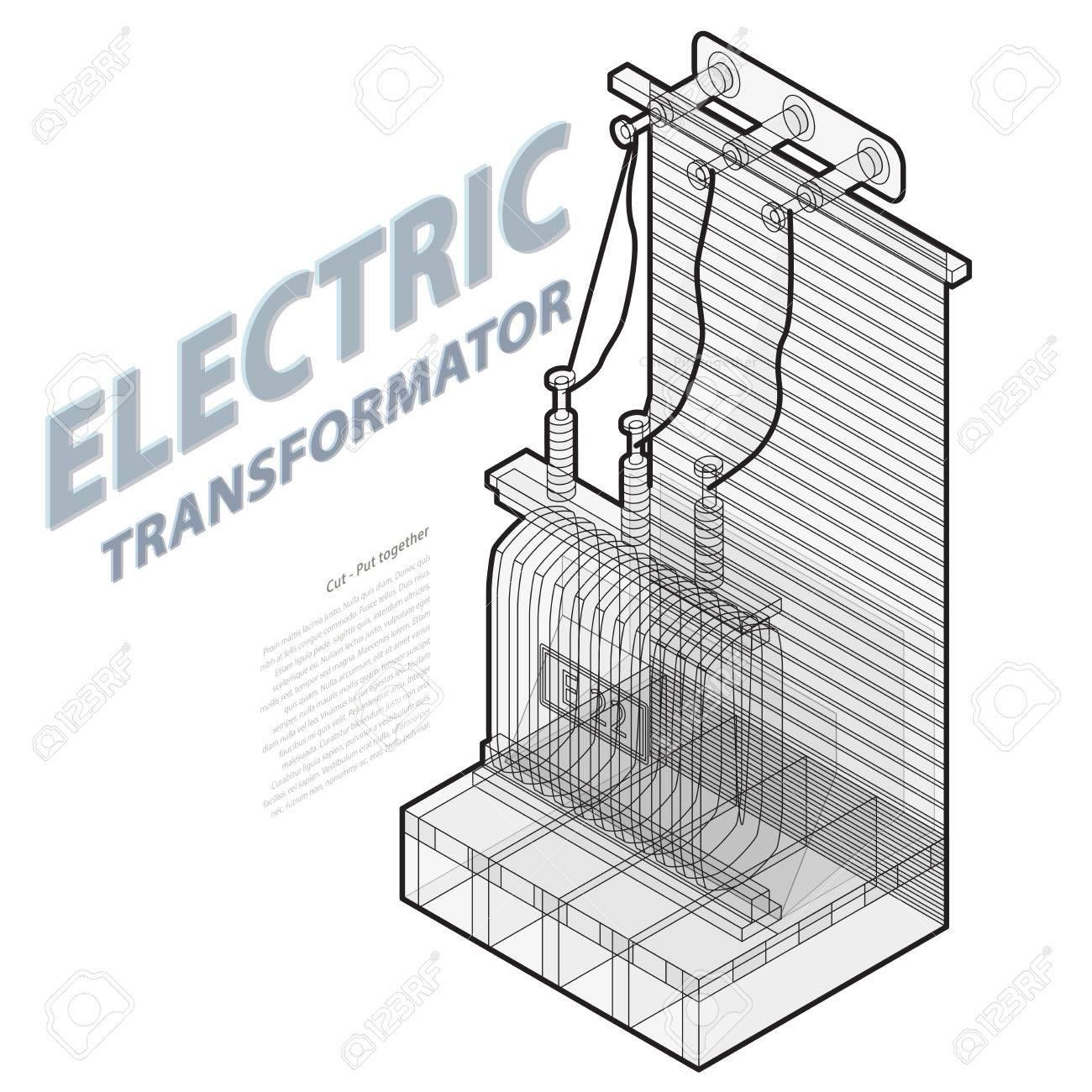 Atemberaubend Transformator Symbol Elektrisch Galerie - Elektrische ...