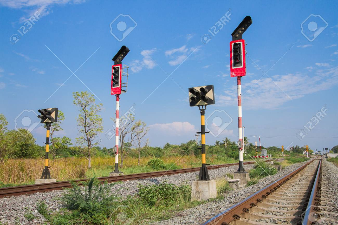 Signs train in the countryside in lopburi thailand stock photo signs train in the countryside in lopburi thailand stock photo 87788776 arubaitofo Image collections