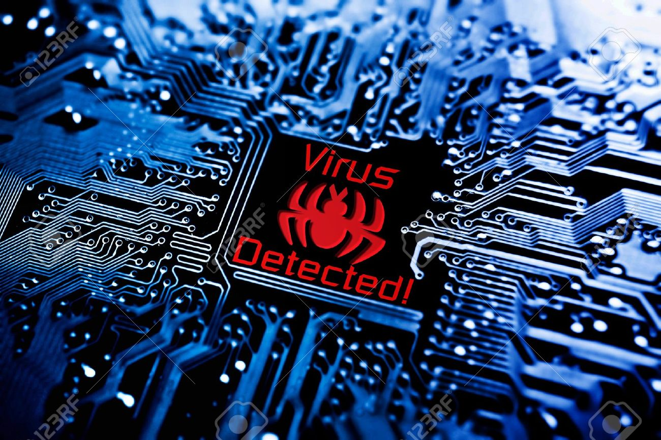 Computer Virus Stock Photos Royalty Free Images Circuit Board With Binary Code Closeup Digital Compostie Sign On Photo