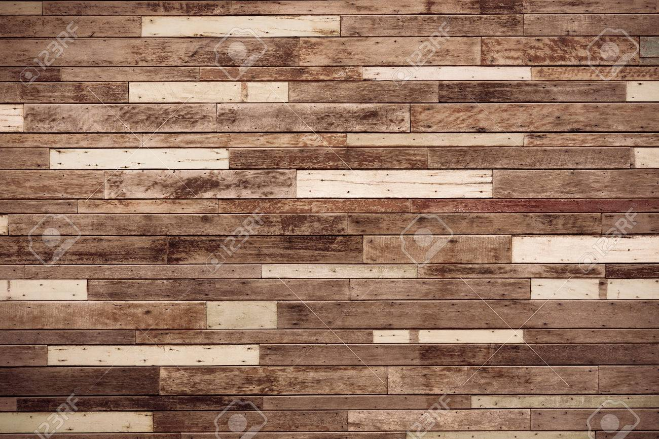 Große Holzbrett Wand Holz Wand Hintergrund Lizenzfreie Fotos