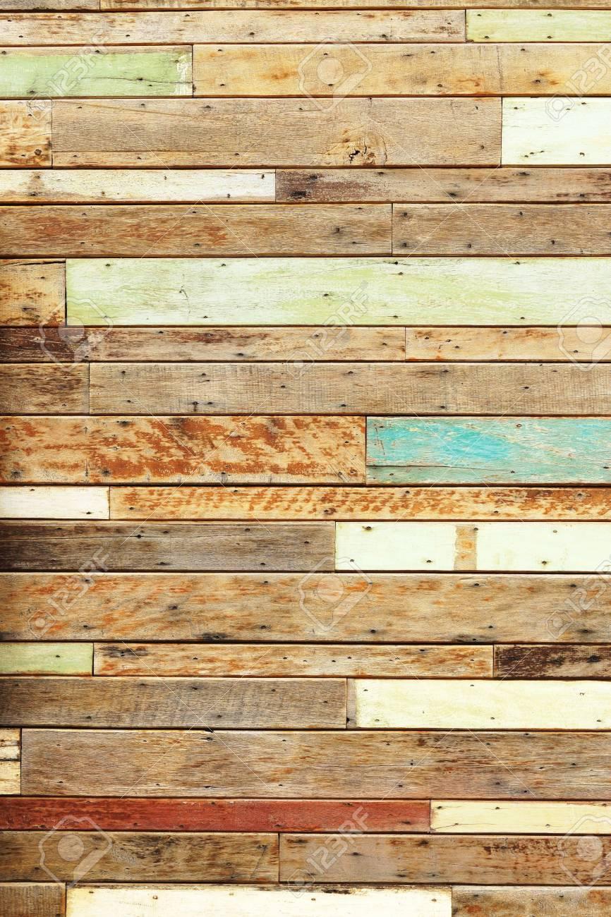 Großen Alten Holzbrett Wand Holz Wand Hintergrund Lizenzfreie