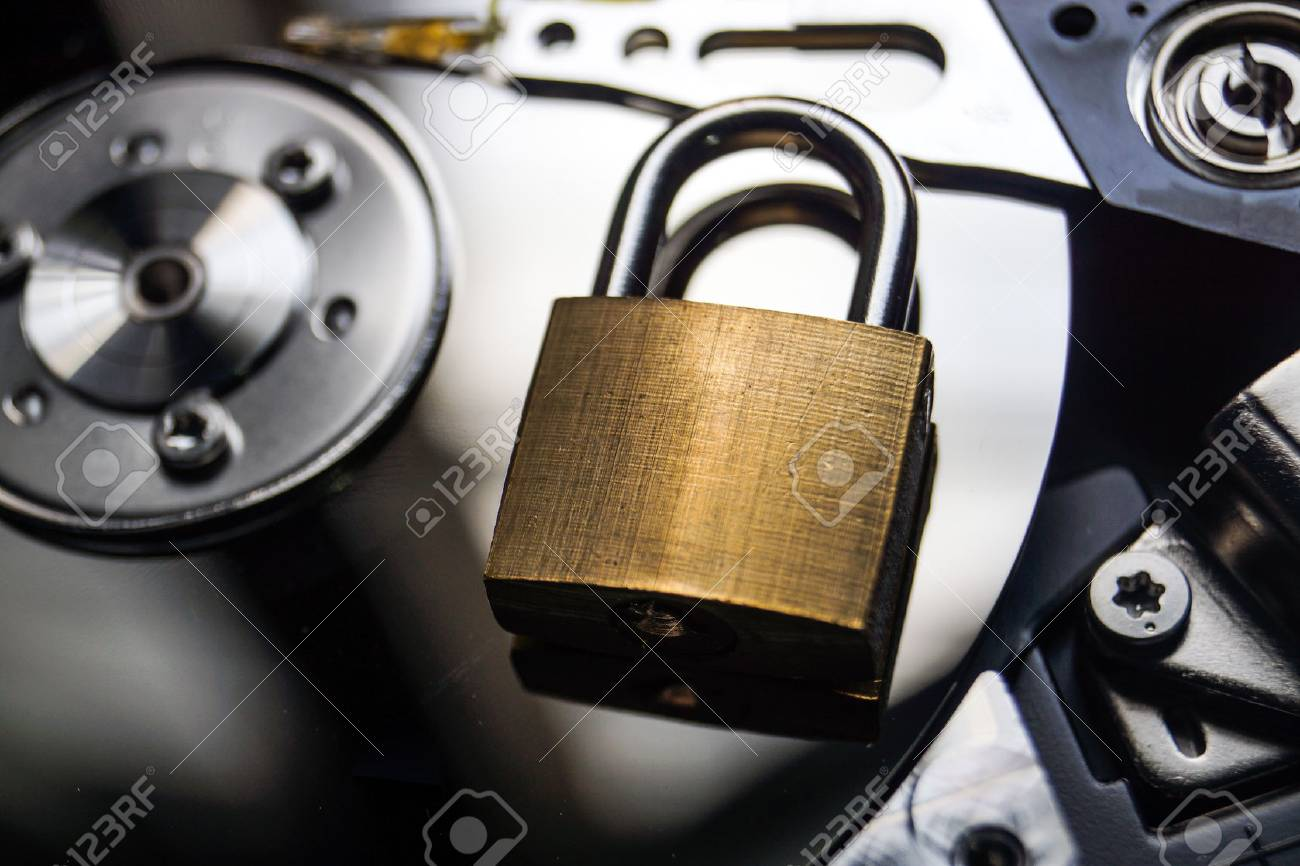 hard disk security lock