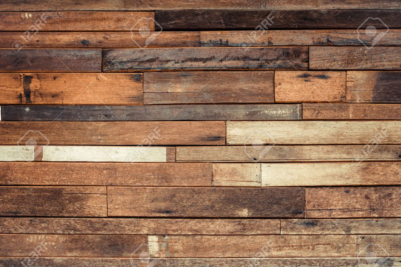 Fantastic Old Wood Plank Wall Background Stock Photo, Picture And Royalty  YC89