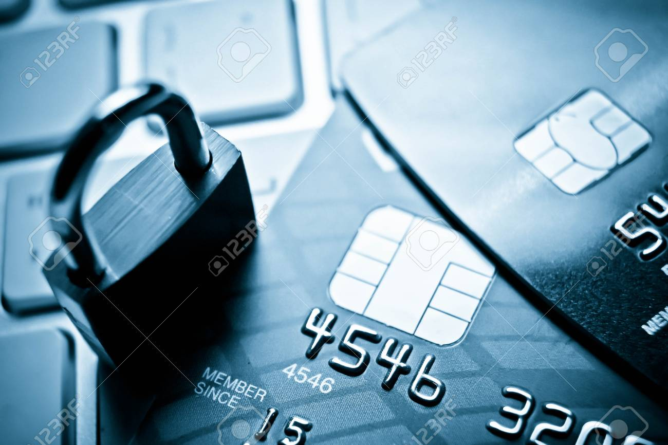 Data Security Encryption Credit Card Concept On Stock Photo 67557222