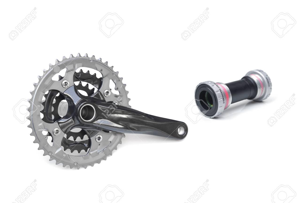 Mountain Bike Crankset >> Bicycle Crank For Mountain Bike Royalty Free Stok Fotograf Resimler