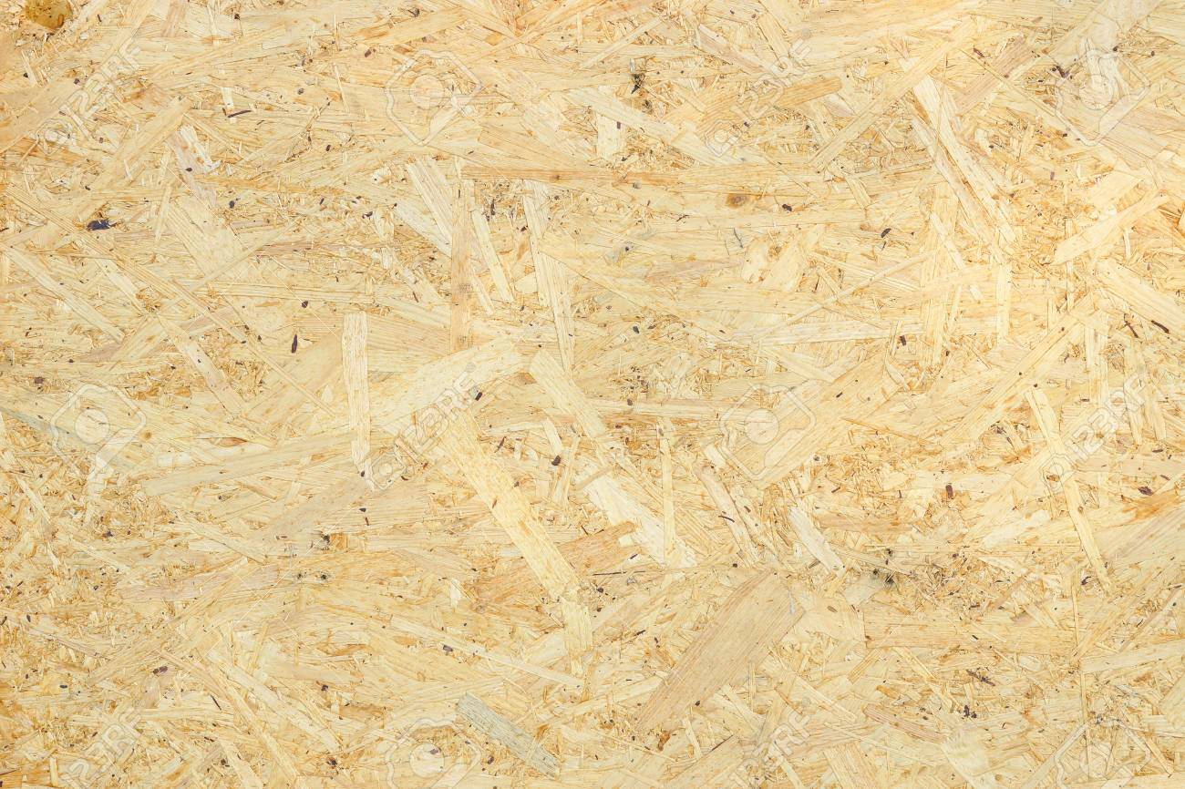 Wood Texture Osb Wood Board For Background Decoration Stock Photo