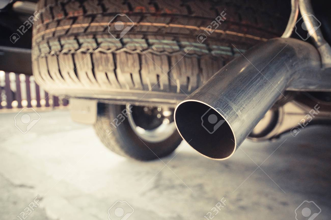 Exhaust Pipe Of A Truck Stock Photo Picture And Royalty Free Image Image 71216767