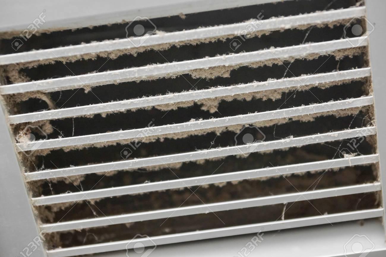 Dirty air ventilator full of dust - 93145257