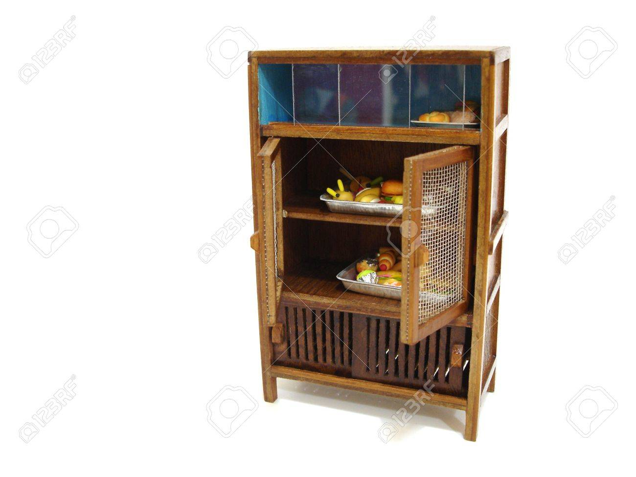 Asian food storage cabinet