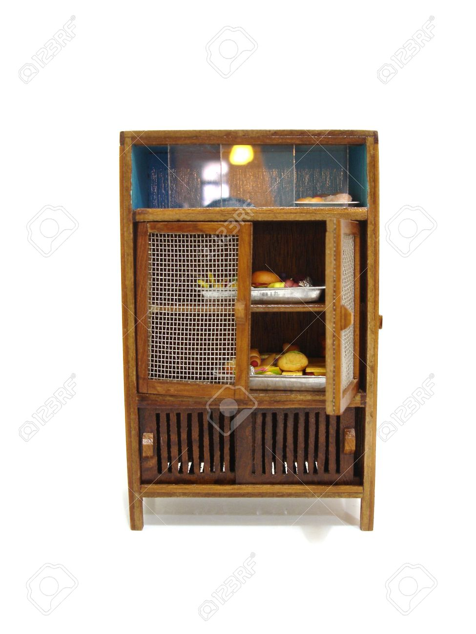 Asian Food Storage Cabinet Stock Photo, Picture And Royalty Free ...